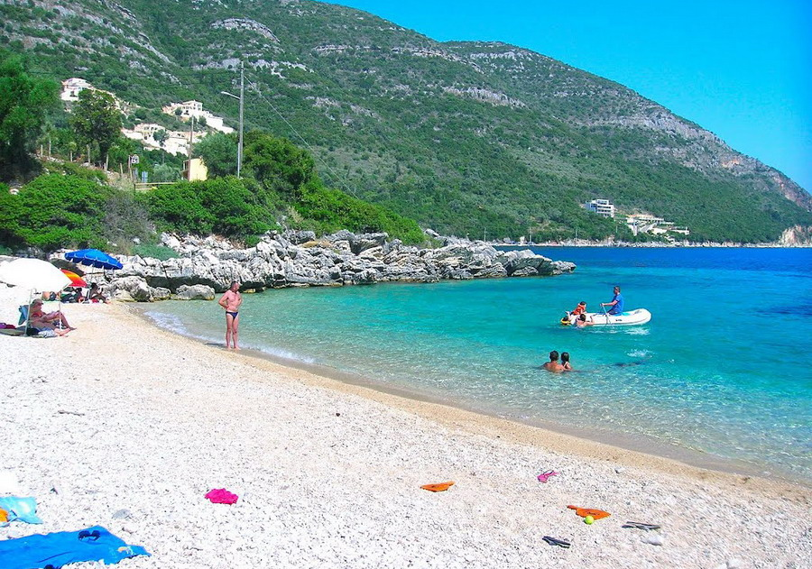 Mikros Gialos (Poros) plaža - Lefkada